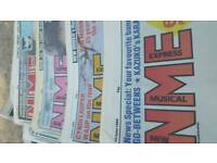 New Muzical Expres Collecting newspaper