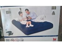 Air Bed with Mains Pump - Double