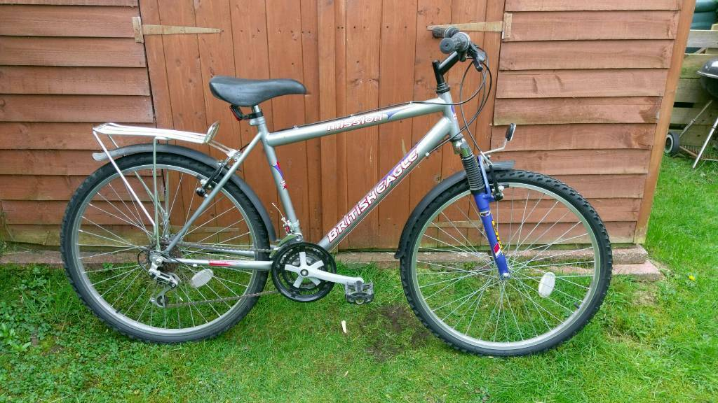 British Eagle Mission Mountain Bike Hybrid Bicycle In