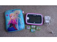 Leap pad 3 with 4 games