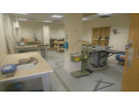 200 SQFT WORKSHOP TO LET IN CITY CENTRE - JUST £75 A MONTH! Shared tools included