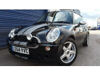 2004 MINI ONE BLACK 1.6 NEW CLUTCH FULL SERVICE HISTORY NEW MOT VERY GOOD COND
