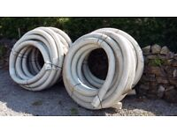 OSMA Subsoil Land Drain Pipe Coil 100mm x 25 metres: X 4 available.