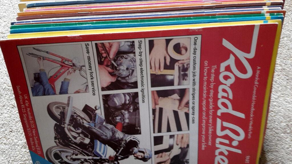 ROAD BIKE 72 MOTORBIKE MOTORCYCLE MAGAZINES MARSHALL CAVENDISH PARTWORK