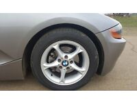 BMW Z4, 38,000 miles petrol / lpg, great condition for year, very quick,