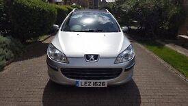 Peugeot 407 SW, 2.0 HDI, 2006, sunroof, low mileage
