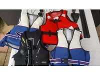 5 Life Vests. Buy all or individually.