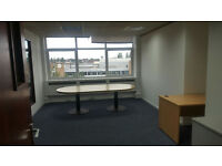 8 workstation partitioned office space near Wembley for rent