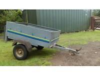 Treglo 4x3 metal trailer