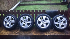 Alloy Wheels Audi 8p 225/50/16 205/45/16 5x112