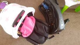 Baby car seat & safety base ( not isofix) in excellent condition