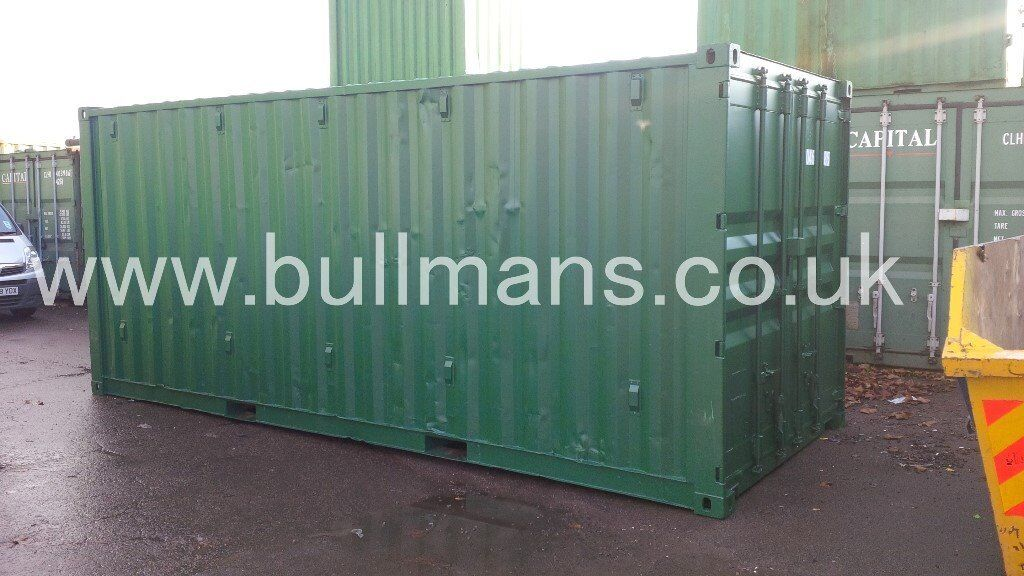 Second hand Chemical storage shipping containers for sale / Bunded shipping containers – 20ft