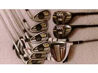 ADAMS SPEEDLINE SUPER S + V3 TECH HYBRID COMBO IRONS
