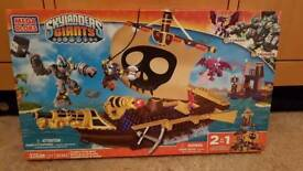 Skylanders Gianys Megabloks Crushers pirate quest