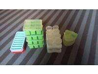 Job Lot - Baby Puree Freezer Pots