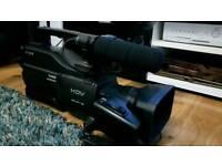 Sony HDV video camera professional