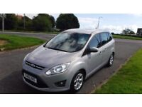 FORD GRAND C-MAX 1.6 GRAND ZETEC TDCI,2011,7 SEATER,Alloys,Air Con,Bluetooth,Very Clean Inside&Out