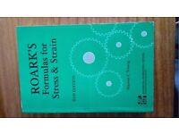 Roark Formulas for Stress & Strain 6th Edition