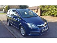2007 Vauxhall Zafira 7 seater family car 1.6, 1 year mot in excellent condition