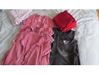 Bundle of girls red school uniform