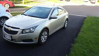 Lease take over_Chev Cruze LT 2014
