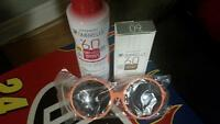 Ombrelle sunscreen and glasses