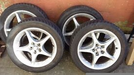 "16"" Toyota Celica allow wheels and tyres"