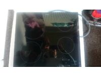 Whirlpool electric cooker hob