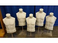 Mannequins full and half bodies