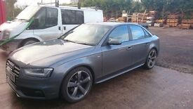 Audi A4 Black Edition, Multi Tronic, 175bhp,