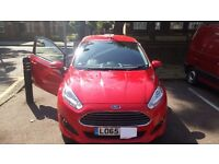 FORD FIESTA ZECTEC ECO BOOST 3 DOOR RED 1.0 Mileage under 2900