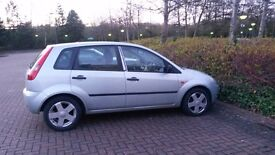 2004(September) Ford Fiesta Zetec 1388CC + 5 DR+ in a very good condition