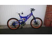 Boy's Muddy Fox Bike