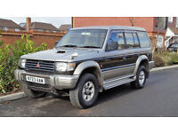 1996/N Mitsubishi Pajero Exceed 2.8 TD Auto LWB + 7 Seater + Limited Edition + 12 MONTHS MOT +