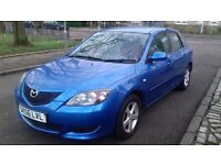 MAZDA 3 06REG FULL YEAR MOT EXCELENT CONDITION DRIVES REALLY WELL