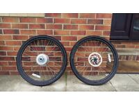 26 inch mountain bike wheels with slick tires