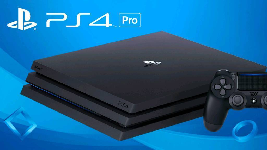 Playstation 4 with Two Games