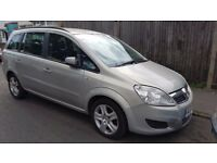 vauxhall zafira,2008,1.9cdti,automatic,7 seater,great family car,long mot
