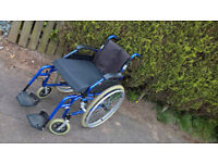Enigma Lightweight Aluminum Self Propelled Wheelchair cost £300 +