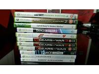 Selection of Xbox 360 games