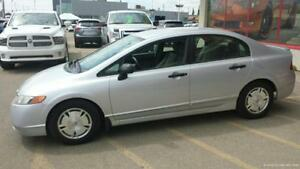 SPORTY AND RELIABLE - 08 HONDA CIVIC W/ MANUAL TRANSMISSION