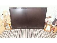 LG 47 Black flat screen tv