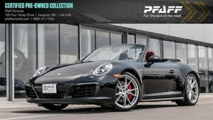 2017 Porsche 911 Carrera 4S Cabriolet PDK - 4.99% LEASE RATE!!