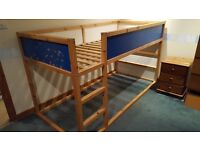 "Ikea Childrens Bed- ""Kura"" - with a choice of mattress"
