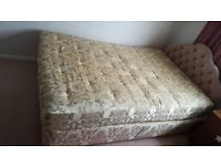 Relyon 4' 6 Double Bed & Head board