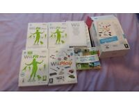 Complete Nintendo Wii-Fit Inc Board Games, Consoles and instructions- Nearly New
