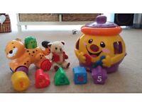 Children's Nursery/ Preschool/baby toys for sale. Excellent condition.