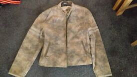 leather Jacket XXL as new condition