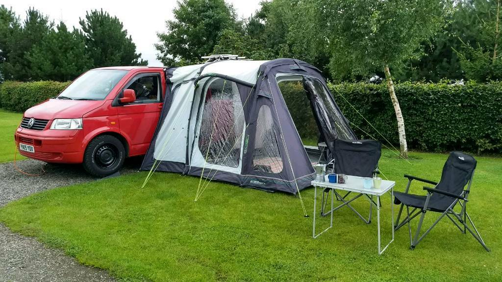 Outdoor Revolution Movelite 2 Driveaway Air Awning VW T5 Vito