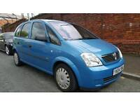 Vauxhall Meriva 1.6 very nice family car/long mot/excellent condition inside & out